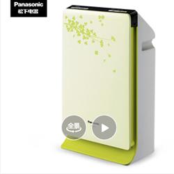松下(Panasonic)空气净化器家用除过敏原 除雾霾PM2.5二手烟卧室办公室F-PDF35C-G