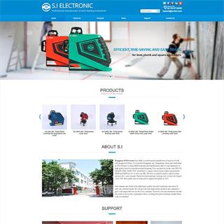建筑工具外贸型企业网站